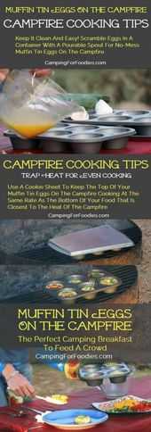 Muffin Tin Eggs On The Campfire Recipe, Hungry Campers Build Their Own