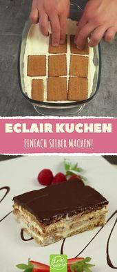 Tan fácil y fácil que puedes hacer un pastel de eclair en casa, solo …   – Rezepte