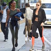 Celebrities wearing work out clothes  LIKE & comment your fave look!  – Follow @…