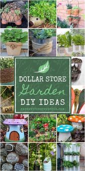 Beautify your garden with these DIY ideas at a great price. F