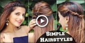 1 min cute every day effortless hairstyles for school, college, work / easy & qu ...