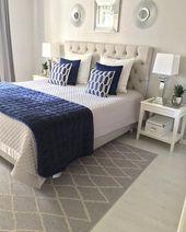 32 schöne Schlafzimmer-Dekor-Ideen für kompakte Abteilungen; Für smarte kleine …