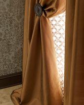 Amity Home Radiance Silk Curtain, 84L