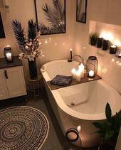 Home Interior Design – Gemütliches Badezimmer #b…