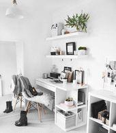 10 Minimale zu inspirierende Arbeitsbereiche – #Inspire #Minimal #office #Workspaces   – Kochen