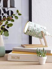 Tischlampe selber basteln: So einfach geht's