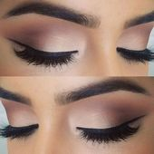 10 heißesten Augen-Make-up-Looks – Make-up-Trends: # 5. Subtiler Schimmer und …   – Schonheit