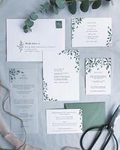 Drawn to: color of return envelope, greenery detail