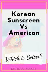 Möchten Sie einen Sonnenschutz, der nicht kreidig und fettig ist? Probieren Sie diese koreanischen …   – Fashion Trends