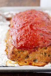 Receta de pastel de carne de pavo molido – ¡El mejor pastel de carne de pavo saludable y fácil!   – TURKEY  (Whole, Parts & Ground) Recipes