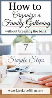 How to Organize a Family Gathering Without Breaking the Bank – Family Ideas, Activities, Events