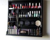 Veranstalter. Nagellack Lagerung. Unterstützung make-up box. Staubige PINK Make-up Aufbewahrung …   – Schmink mein Leben