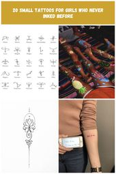 115 Small tattoos with letters and symbols for women tattoo girl cute