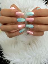 50 Eye-Catching Chrome Nails revolutionize your nail game