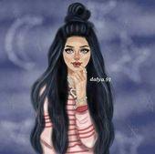 df144c15d18f19cdc98818badeef9ebe  girly pics girly m - Aquele cabelo negro 😲