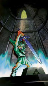 Zelda Phone Wallpapers Legend Of Zelda Ocarina Of Time Zelda Art