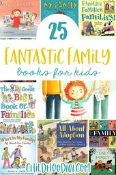 25 Fabulous Picture Books About Families of All Shapes & Sizes – books