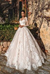"Nora Naviano 2019 Wedding ceremony Attire — ""Voyage"" Bridal Assortment 