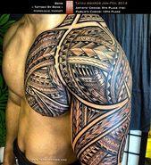 Fantastisches Tribal Bio-Mech Tattoo – #Awesome #biomech #tattoo #Tribal –