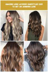 Erstaunlich lange geschichteten Frisuren 2019, um einen bewundernden Look zu bekommen Karamell Haar Erstaunlich lange geschichteten Frisuren 2019, um einen bewundernden Look zu bekommen