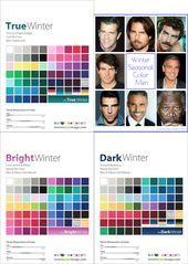 Winter Palette Men Men Palette Winter Wintermencolorpalette In 2020 True Winter Color Palette Winter Skin Tone Colors Deep Autumn Color Palette