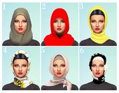 Sims4MM — heyyy do u know fo any hijab cc? I can…