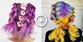 #the #DIY #Easy hairstyles lazy #simple # hairstyles # for -