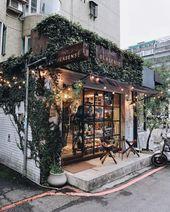 hübscher Coffeeshop um die Ecke