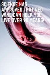 Science Has Approved That Red Wine Can Help You Live Over 90 Years!