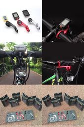 Left Right Bicycle Computer Holder Handlebar Edge 1000 GoPro Support Bike Mount