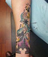 #sacredritestattoo #tattoo #tattoos #colortattoo #watercolor #watercolortattoo #disney #disneyworld #disneyland #disneytattoo