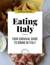Italy Journey Ideas for Meals & Wine Lovers