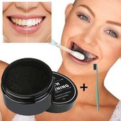 30g Organic Charcoal Professional Whitening Natural Bamboo Teeth Toothpaste | Wish