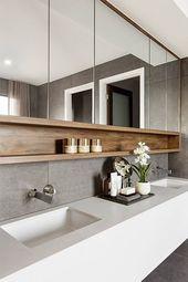 25+ Best Bathroom Mirror Ideas for a Small Bathroom – #Bath #Bathroom Ideas #Best # # A # for #Little #Lack