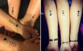 25 cute friendship tattoos for inspiration