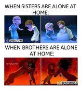 Über 40 unglaublich witzig zuordenbare Schwestern und Brüder-Meme #bruder #Ge