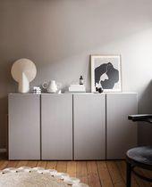 Wandfarbe Greige in Swantjes Schlafzimmer von www….