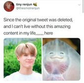 He is literally this: ^~^   #NCT #MEMES #KPOP #FUNNY #JENO #SMILE