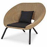 Fauteuil De Jardin Loa Lot De 2 Castorama Outdoor Wicker Lounge Chairs Wicker Lounge Chair Rattan Armchair