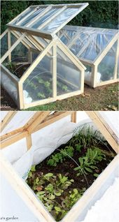 42 Greatest DIY Greenhouses ( with Nice Tutorials and Plans! ) – A Piece of Rainbow