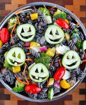 Healthy Halloween Pasta Salad – CrAfTy 2 ThE CoRe~DIY GaLoRe
