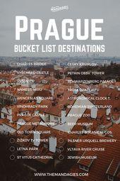 10 Distinctive Instagram Spots in Prague (Winter Version)