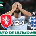 Resumen Y Goles Republica Checa 2 1 Inglaterra Uefa European Qualifers Tudn Resumen Goles Republica Checa