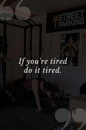 Motivierende Zitate zum Ausarbeiten   – Fitness Motivation Pictures