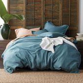 Bettbezug Comfort Wash aus festem Leinen im Company Store – Bettwäsche – Bettbezug …   – Products