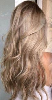 Hair color blonde balayage summer curls 20 Trendy Ideas #hair #balayagehairblond…
