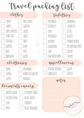 Beach Vacation Packing Free Printable – Savvy Ways About Things Can Teach Us