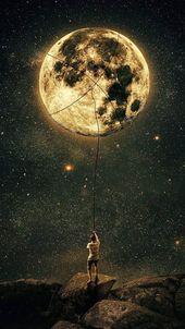 Den Mond fangen – Beautiful Wallpaper – Tagliches Pin Blog