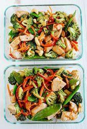 28 gesunde Mahlzeit Prep Rezepte für eine einfache Woche   – Healthy Recipes | Danielle Pascente