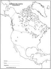 America Del Norte Mapa De America Mapa De America Latina America Del Norte Mapa